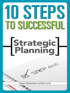 Cover of 10 Steps to Successful Strategic Planning