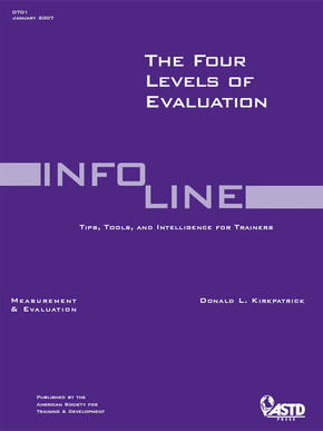 Four Levels of Evaluation