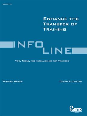 Enhance the Transfer of Training