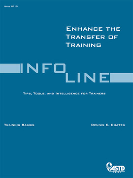 Enhance the Transfer of Training
