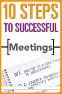 Cover of 10 Steps to Successful Meetings