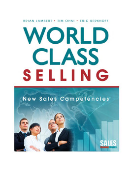 World Class Selling: New Sales Competencies