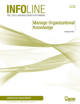 Manage Organizational Knowledge