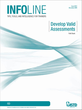 Develop Valid Assessments
