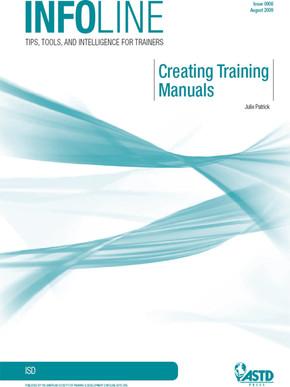 Creating Training Manuals