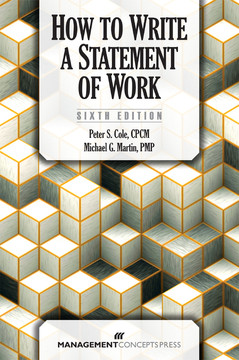 How to Write a Statement of Work, 6th Edition