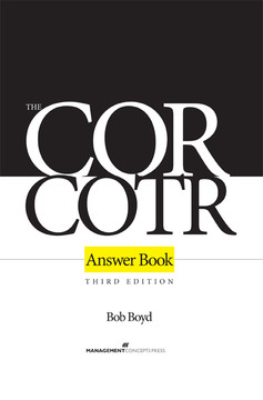The COR/COTR Answer Book, 3rd Edition