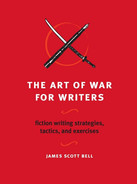 Cover of The Art of War for Writers
