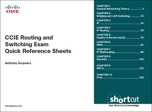 CCIE Routing and Switching Exam Quick Reference Sheets
