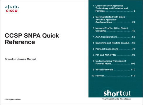 CCSP SNPA Quick Reference