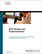 Cover of BGP Design and Implementation
