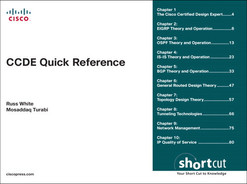 Cover of CCDE Quick Reference