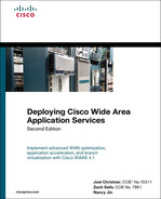 Cover of Deploying Cisco Wide Area Application Services, Second Edition