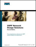Cover of OSPF Network Design Solutions, Second Edition