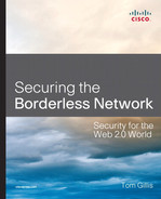 Cover of Securing the Borderless Network: Security for the Web 2.0 World