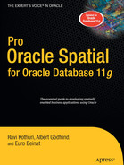 Cover of Pro Oracle Spatial for Oracle Database 11g