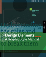 Book cover for Design Elements: A Graphic Style Manual