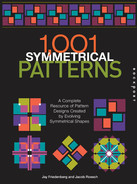 Cover of 1,001 Symmetrical Patterns