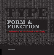 Cover of Type Form & Function: A Handbook on the Fundamentals of Typography
