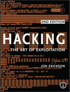 Cover of Hacking: The Art of Exploitation, 2nd Edition