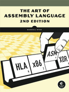Cover of The Art of Assembly Language, 2nd Edition