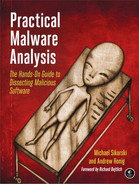 Cover of Practical Malware Analysis