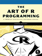Cover of The Art of R Programming