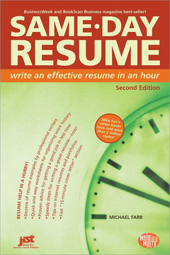 Same-Day Resume , 2nd Edition