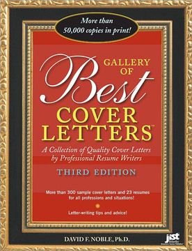 Gallery of Best Cover Letters , 3rd Edition