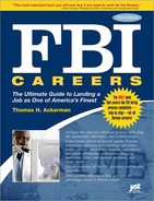 Cover image for FBI Careers  , 3rd Edition