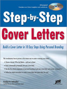 Cover of Step-by-Step Cover Letters