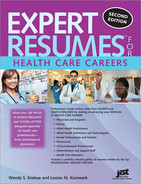 Cover image for Expert Resumes for Health Care Careers, 2nd Edition