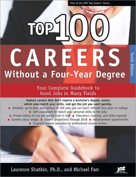 Top 100 Careers Without a Four-Year Degree, Tenth Edition