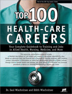 Cover image for Top 100 Health-Care Careers , 3rd Edition