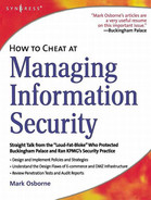 Cover of How to Cheat at Managing Information Security