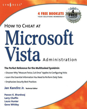 How to Cheat at Microsoft Vista Administration