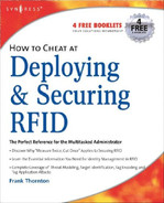 Cover of How to Cheat at Deploying and Securing RFID