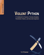 Cover of Violent Python