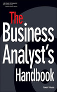 Cover of The Business Analyst's Handbook