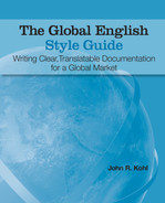 Cover of The Global English Style Guide