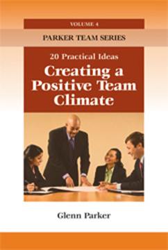 Creating a Positive Team Climate: 20 Practical Ideas