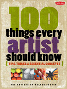 Cover of 100 Things Every Artist Should Know: Tips, tricks & essential concepts