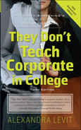 Cover of They Don't Teach Corporate in College, Third Edition