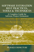 Cover of SOFTWARE ESTIMATION BEST PRACTICES, TOOLS, & TECHNIQUES