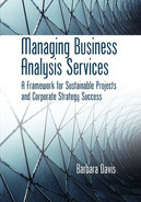 Cover of Managing Business Analysis Services