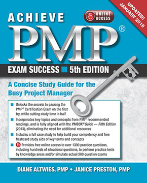 Achieve PMP® Exam Success, 5th Edition (Updated January 2016)
