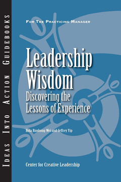 An Ideas Into Action Guidebook: Leadership Wisdom Discovering the Lessons of Experience