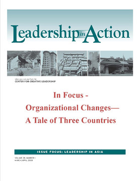 Leadership in Action: In Focus - Organizational Changes—A Tale of Three Countries