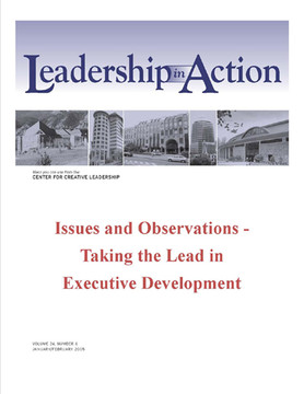 Leadership in Action: Issues and Observations - Taking the Lead in Executive Development
