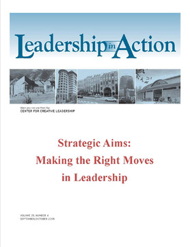 Leadership in Action: Strategic Aims: Making the Right Moves in Leadership